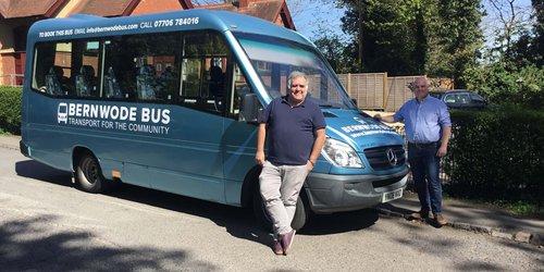 Bernie the Bus with Ashley Waite and Paul Irwin.jpg