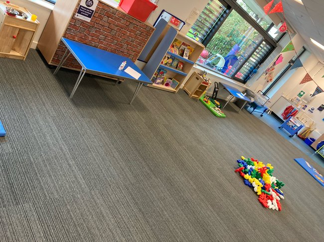 Berryields play floor