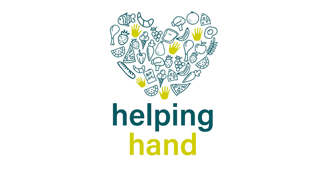 The logo for the Helping Hand scheme