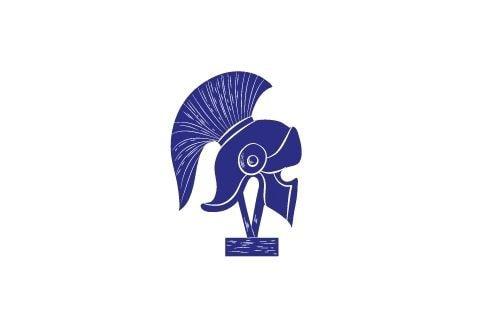 Icon of a roman helmet