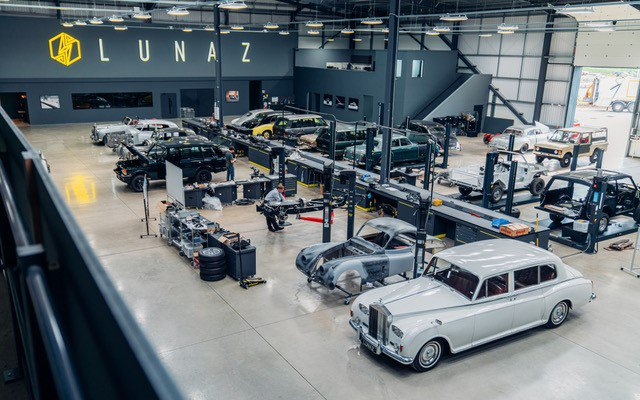 The Lunaz Group working on converting classic cars to become electric-powered