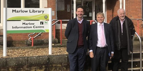 Marlow Library and councillors