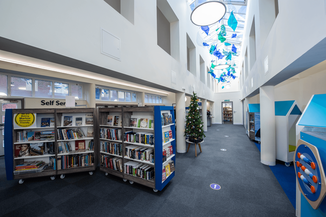 Marlow Library interior