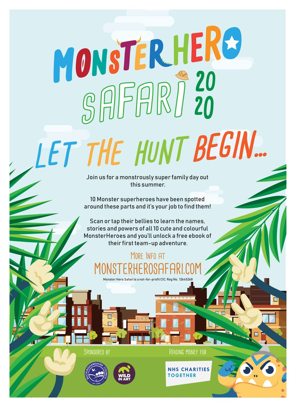 MonsterHero A4 Poster