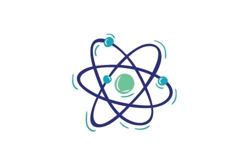 Icon of an atom