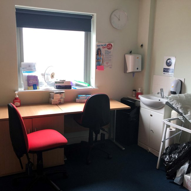 Picture of a consultation room