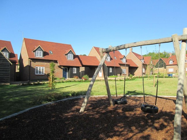 Woodland View Housing Development in Saunderton