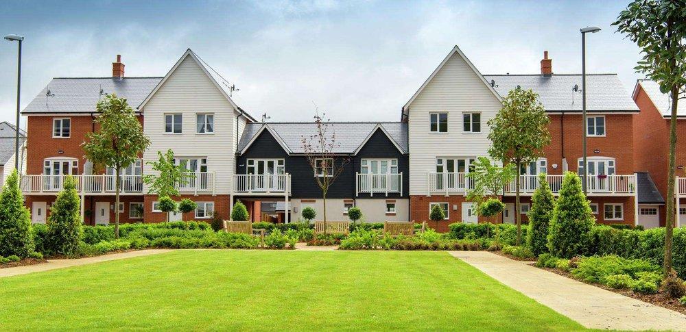 Wye Dene: Modern Housing development in High Wycombe